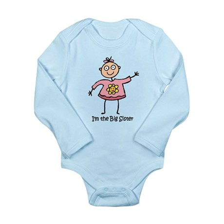 I'm the Big Sister Long Sleeve Infant Bodysuit