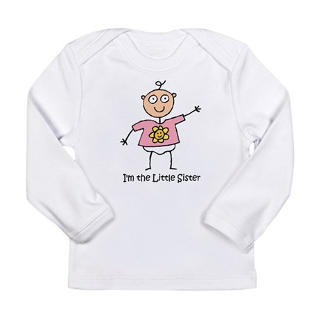 I'm the Little Sister Long Sleeve Infant T-Shirt