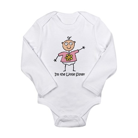 I'm the Little Sister Long Sleeve Infant Bodysuit