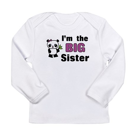 I'm the Big Sister Long Sleeve Infant T-Shirt