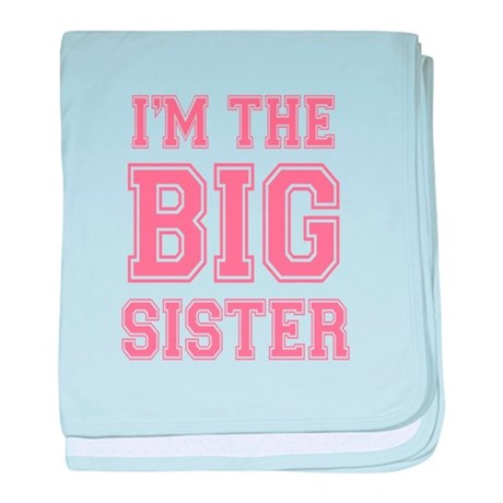 Big Sister baby blanket