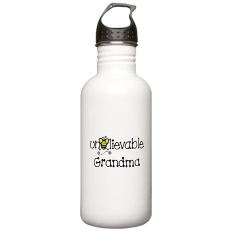 Unbelievable Grandma Stainless Water Bottle 1.0L