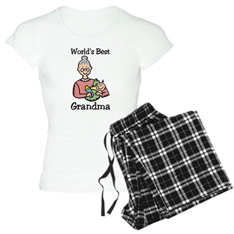 World's Best Grandma Women's Light Pajamas