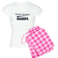 World's Greatest Grandpa Women's Light Pajamas