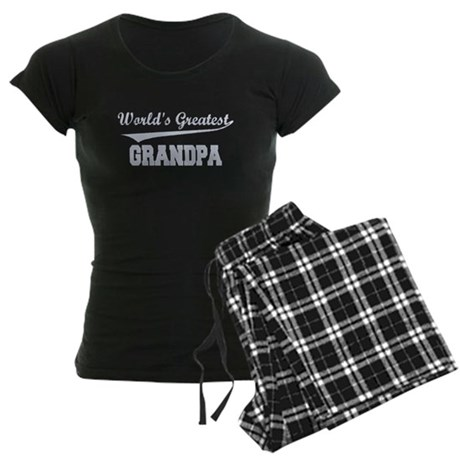World's Greatest Grandpa Women's Dark Pajamas