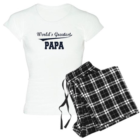 World's Greatest Papa Women's Light Pajamas