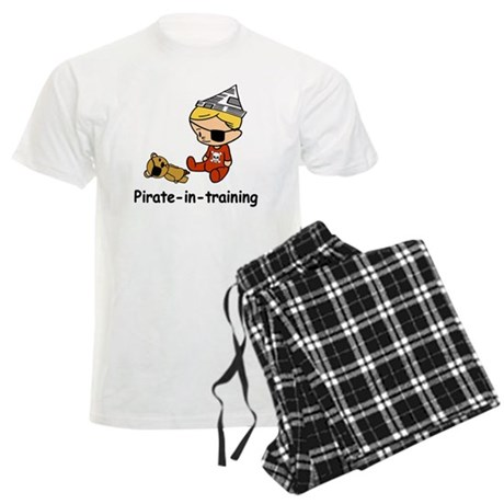 Pirate-in-training Men's Light Pajamas
