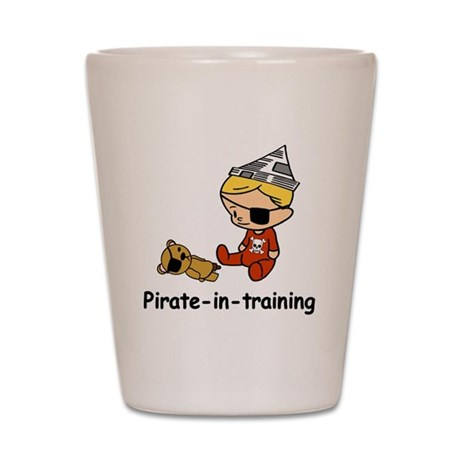 Pirate-in-training Shot Glass