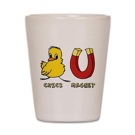 Chick Magnet Shot Glass