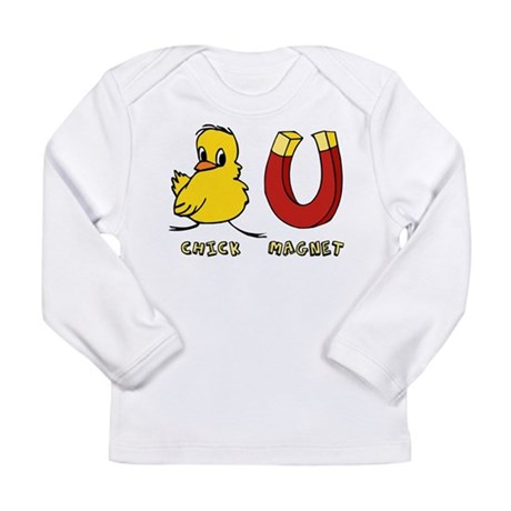 Chick Magnet Long Sleeve Infant T-Shirt
