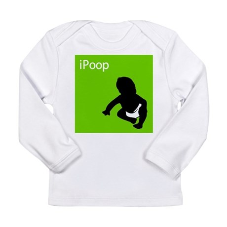 iPoop Long Sleeve Infant T-Shirt