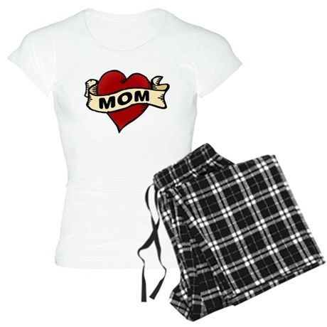 Mom heart tattoo Women's Light Pajamas