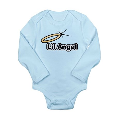 Little Angel Long Sleeve Infant Bodysuit