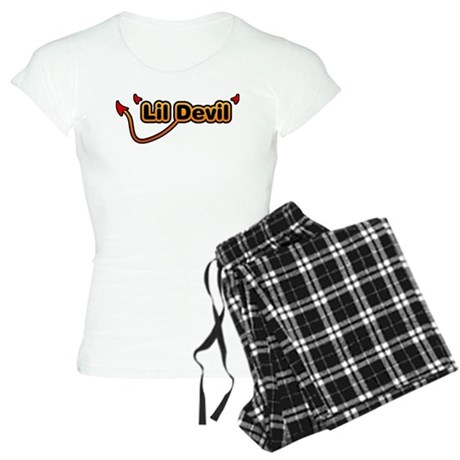 Little Devil Women's Light Pajamas