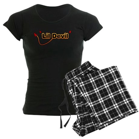 Little Devil Women's Dark Pajamas