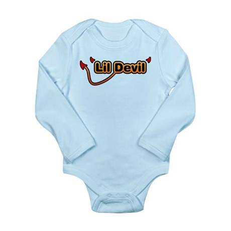 Little Devil Long Sleeve Infant Bodysuit