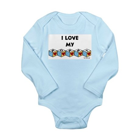 I love my Mommy Long Sleeve Infant Bodysuit