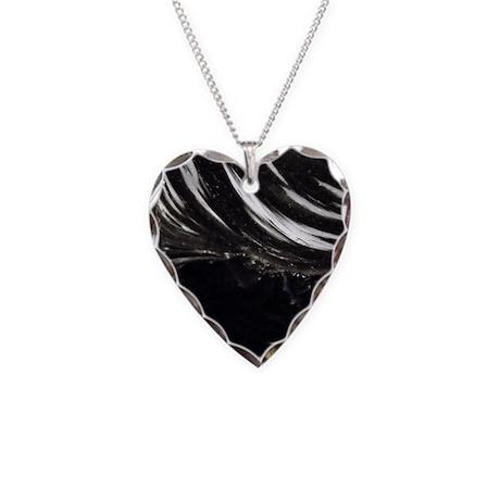 black obsidian necklace by joemonica