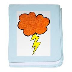 Lightning Cloud baby blanket
