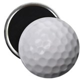 "Golf Ball 2.25"" Magnet (10 pack)"