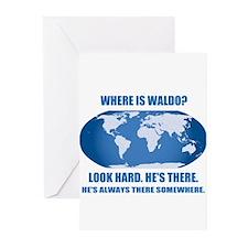 Where's Waldo Greeting Cards (Pk of 20)