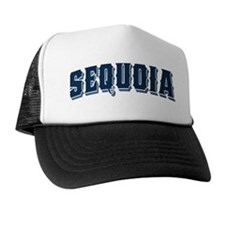 Sequoia Old Style Blue Trucker Hat