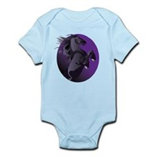 Fresian Horse Infant Bodysuit