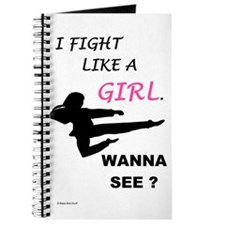 Fight Like A Girl 1 Journal