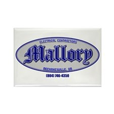 Mallory Electric Rectangle Magnet