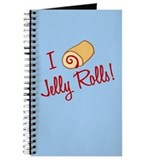 I Love Jelly Rolls Journal