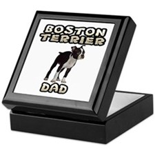 Boston Terrier Dad Keepsake Box