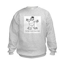 Tim the Poorly Drawn Man Sweatshirt