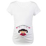 Cute February Pregnancy Maternity T-Shirt