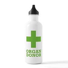 Organ Donor Sports Water Bottle