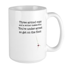 Three armed cops... Coffee Mug