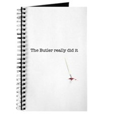 The Butler really did it Journal