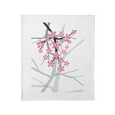 Sakura Throw Blanket