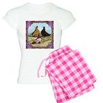 English Shortfaced Pigeons Fr Women's Light Pajama