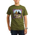 English Shortfaced Pigeons Fr Organic Men's T-Shir
