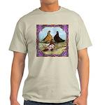 English Shortfaced Pigeons Fr Light T-Shirt