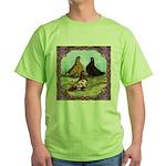English Shortfaced Pigeons Fr Green T-Shirt