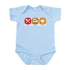Eat Sleep GRILL Infant Creeper