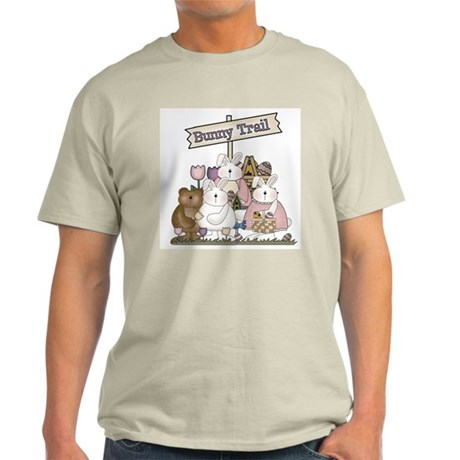 The Bunny Trail Ash Grey T-Shirt