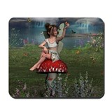 Megan, a Young Fairy Mousepad