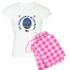 Navy Grandson Pajamas