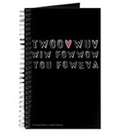 Princess Bride Twoo Wuv Foweva Journal