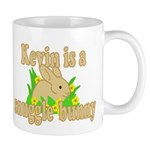 Kevin is a Snuggle Bunny Mug