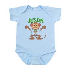 Little Monkey Justin Onesie