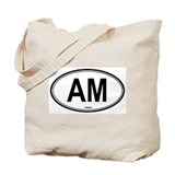 Armenia (AM) euro Tote Bag