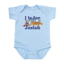 J is for Josiah Infant Bodysuit